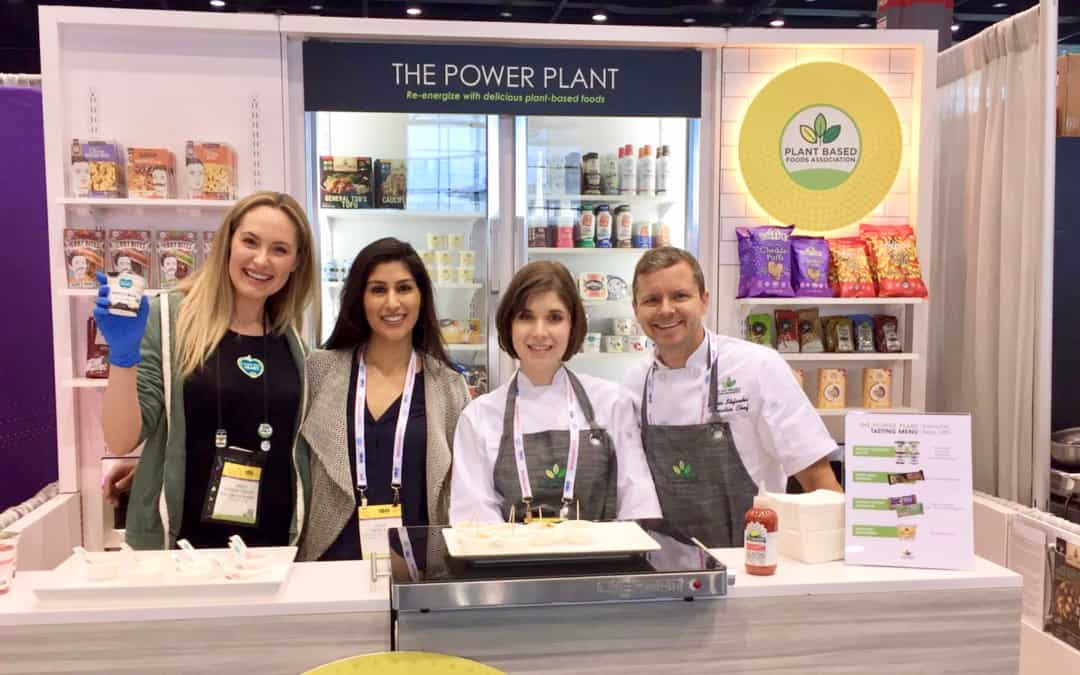 PBFA Debuts Plant-Based Grab-n-Go at National Restaurant Association Show