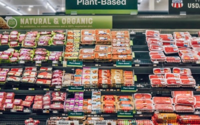 Plant-Based Meat Sales Increase an Average of 23% When Sold in the Meat Department