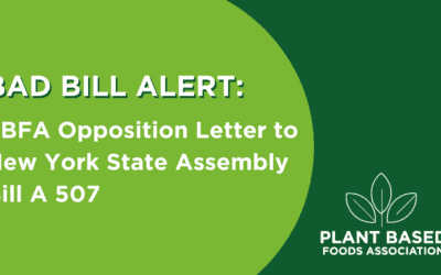 PBFA Opposition Letter to New York State Assembly Bill A 507