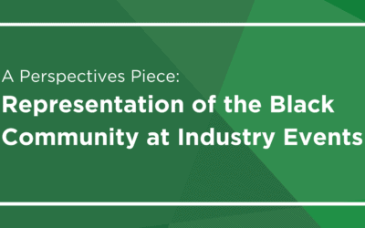 A Perspectives Piece: Representation of the Black Community at Industry Events
