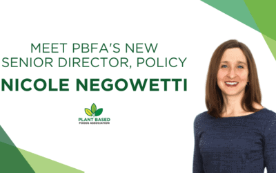 The Plant Based Foods Association Welcomes Nicole Negowetti as Senior Director of Policy