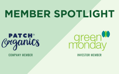 Monthly Member +Investor Highlights: Patch Organics + Green Monday