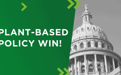 Plant-Based Policy Win in Texas