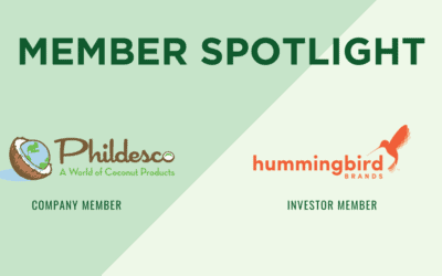 Monthly Member +Investor Highlights: Phildesco, Inc. + Hummingbird Brands